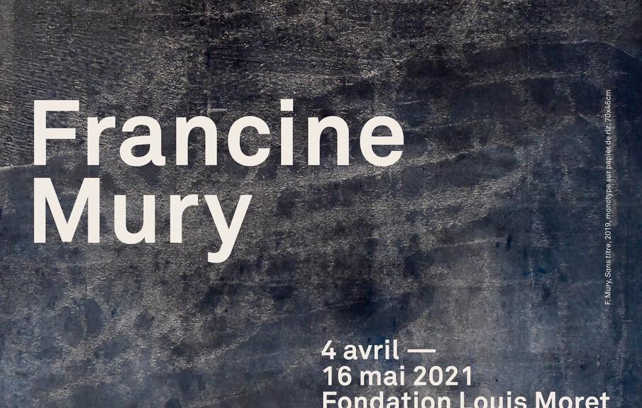 """Francine Mury, """"Sans titre"""", 2019, monotype sur papier de riz, 70x46cm"""
